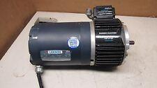 LEESON C6T17NC2F 1/2 HP ELECTRIC MOTOR 208-230V 3PH WARNER EUM 100-1020 BRAKE