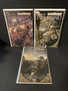Forgotten Realms 1-3 Full Run B Covers High Grade 1st Appearance of Drizzt