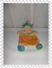 ♠ - Doudou Plat Garçon Prince Roi Couronne Etoiles Orange Ecru Bleu ... Kiabi
