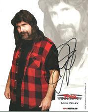 Ps005 Mick Foley signed Tna Promo w/Coa