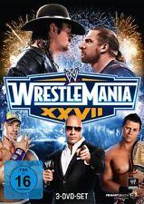 3 DVDs *  WWE - WRESTLEMANIA 27   # NEU OVP &