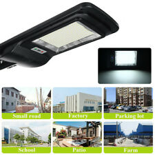 4000W 400000LM LED Solar Street Light Wall Lamp PIR Motion Sensor+Remote