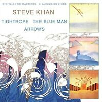 STEVE KHAN - TIGHROPE/BLUE MAN/ARROWS 2 CD NEU