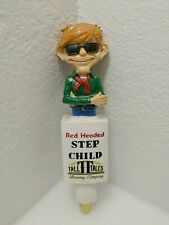 """New listing Red Headed Step Child Tall Tales Brewing Figural 11"""" Draft Beer Keg Tap Handle"""