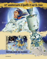Guinea  2019  Apollo on the Moon , Neil Armstrong ,space  S201912
