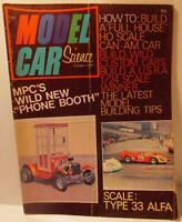 Model Car Science Magazine, October 1969, 1/32 Dynamic Alfa Build, TJet Tuning