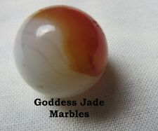 """Antique Akro Onyx Patch 5/8"""" Goddess Jade Marbles"""