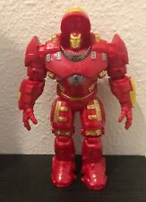 Marvel Avengers Iron Man Hulk Buster Collection Toys Action Figures Lights up!