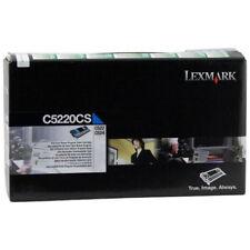 Genuine Original Lexmark C5220CS Cyan Toner Cartridge - 3000 Pages