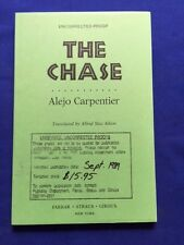 THE CHASE - UNCORRECTED PROOF BY ALEJO CARPENTIER