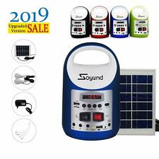 Portable Generator Solar Panel Power Inverter Electric Generator Kit Light 2020