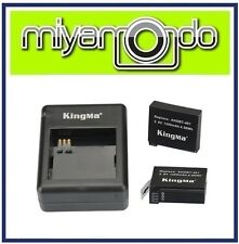 Kingma Battery Pack (2 Battery 1 Charger) for Xiaomi Action Camera
