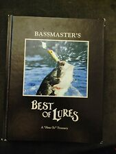 Bassmaster's Best of Lures- coffee table book