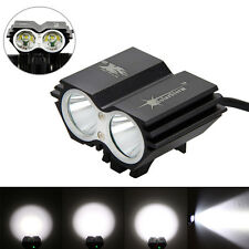 SolarStorm 6000LM 2x T6 LED Front Head Bicycle Lamp Bike Light Headlight Outdoor