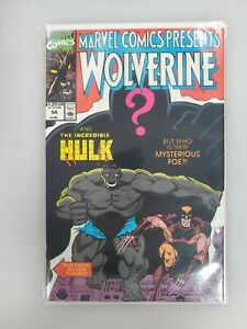 Marvel Comics Presents #58 Marvel Comics WOLVERINE & THE INCREDIBLE HULK