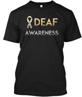 One-of-a-kind American Sign Language Deaf Awareness - Hanes Tagless Tee T-Shirt