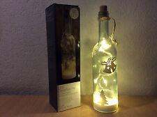 Accessories Dekoflasche Weihnachten Deko Flasche LED Weiß Stimmungslicht NEU