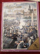Jeu de plateau wargames Clash of Arms Games Napoleon at Leipzig
