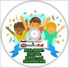 ☝ Mega-Ebook-Paket 20 KINDER- und JUGENDBÜCHER 100 eBooks ePUB PDF Sammlung CD