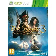 Pal version Microsoft Xbox 360 Port Royale 3