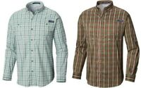 Columbia Sportswear PFG Super Tamiami Men's Long Sleeve Shirt Omni Shade UPF40