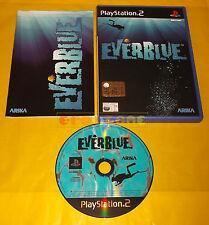 EVERBLUE 1 Ps2 Ever Blue Versione Italiana 1ª Edizione ○○ COMPLETO
