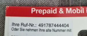 Ortel 0178 7 444404 NEU