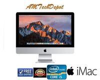 "Apple iMac 21.5"" (A1418) Intel Core i5 (4th Gen) 2.7 Ghz 16 GB Mem 1TB OS Mojave"