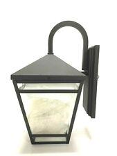 "Park Harbor PHEL4502 Black Edgehill 2-Light 20-1/4""H Outdoor Wall Sconce"