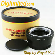 Camdiox Focal Reducer Speed Booster M42 mount lens to Micro 4/3 Adapter GF6 M43