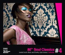80's Soul Classics Vol. 4   New 2-cd    Remastered  PTG