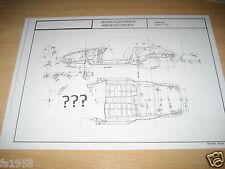 Maßplan Bodengruppe Porsche Modell 912