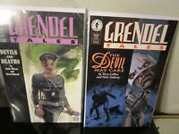 Grendel Tales Devils and Deaths #2 -3 LOT 1994 DARK HORSE~BAGGED BOARDED~