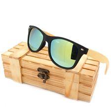 Sonnenbrille # BB002 2 mit Bambus massiv Bügel