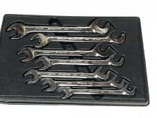 Snap-on Tools METRIC 4 Way Open End Angle Wrench Set 10-15mm + 17mm 7pc Set