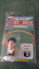 1995 Jay Bell Micro Stars Mlb Collector'S Series Figure - New