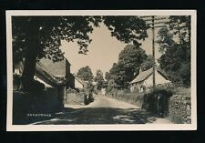 Somerset CROWCOMBE Village Used 1932 RP PPC by H H Hole mailed from fine pmk