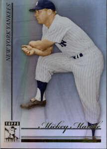 2010 Tribute #50 Mickey Mantle New York Yankees  BX T1J