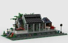 LEGO LITTLE VILLAGE TRAIN STATION INSTRUCTIONS MANUAL PDF MOC M1 train city 2500
