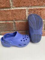 Crocs Shoes Size Little Kid Size XS C8/9 Blue Jibbitz