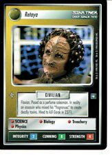 Star Trek Ccg DS9 Rare Carte Retaya