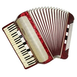 Accordion Kohler, made in Germany, Original Full Size 120 Bass, New Straps 1579