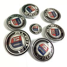 7PCS/set 82/74/68/45mm automobile Emblems car badge for Alpina B3 B5 B6 B7