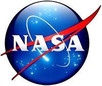 NASA MEATBALL LOGO STICKER / DECAL