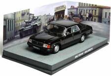 GAZ VOLGA GOLDENEYE 1:43 007 James Bond coche diorama metal diecast