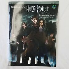 Clarinet Book Harry Potter Goblet of Fire Instumental Solos Level 2-3 Cd Doyle