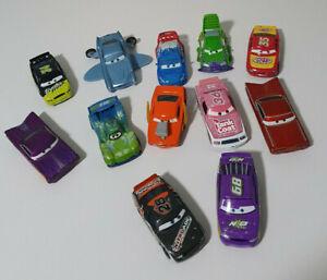 DISNEY DIECAST CARS LOT OF 12!