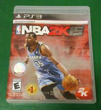 NBA 2K15 (Sony PlayStation 3, 2014) Complete With Manuel Works Tested