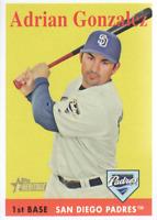 2007 Topps Heritage Baseball #26 Adrian Gonzalez San Diego Padres