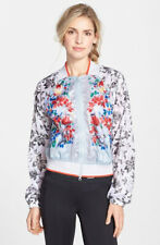 Women's Stella McCartney For Adidas Floral Print Bomber Jacket Coat Size XS